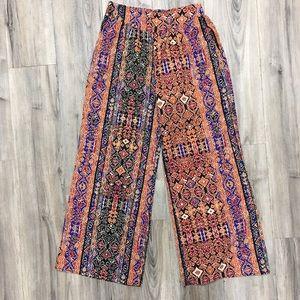 Xhilaration Multicolor Pants- SZ M With Pockets